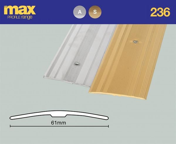F236 Extra Wide Coverstrip